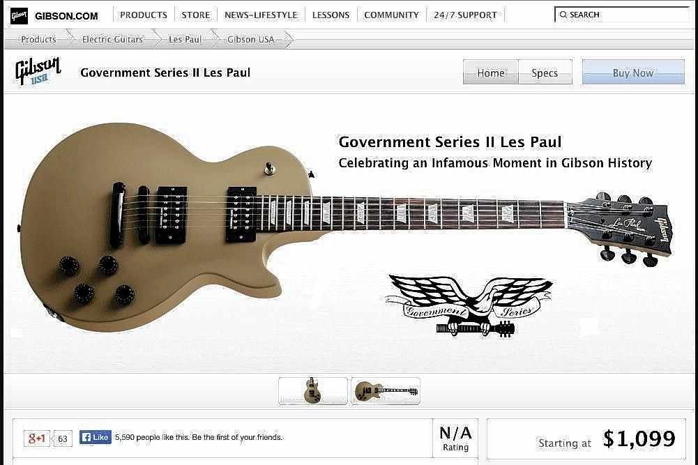 commemorative guitar