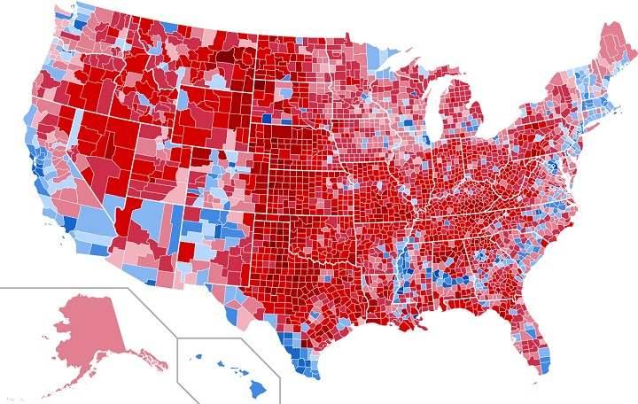 2016 Election Map by County.jpg